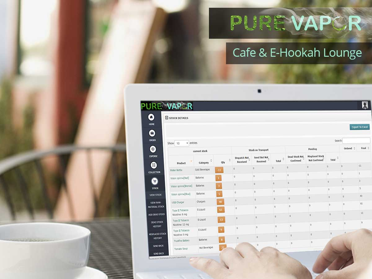 Pure Vapore Cafe